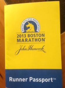 Boston Marathon Passport