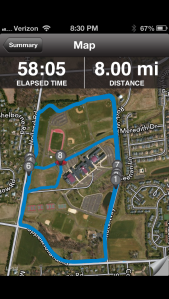 Apr 4 run 1