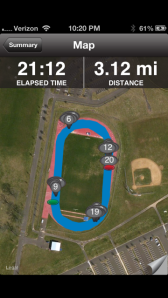 10 x 400m with 100m Quick Recovery