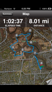 Today's Easy 8 Mile Run