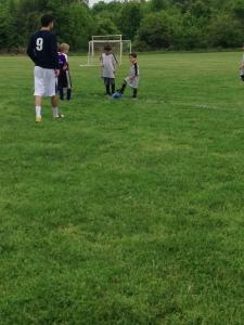 Aaron's Soccer Game
