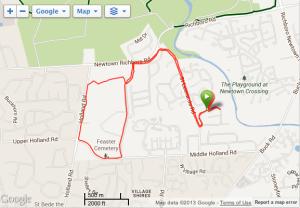 CRS 5 Mile Loop