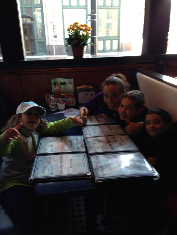 Family at South Street Diner